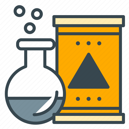 business, chemical, factory, office, test, tube icon