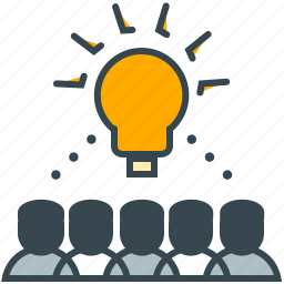 business, crowd, group, idea, office, source icon