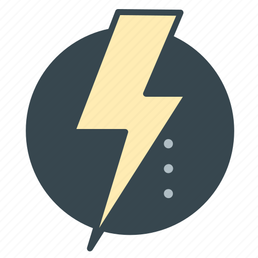business, electricity, energy, industry, lightening, office icon