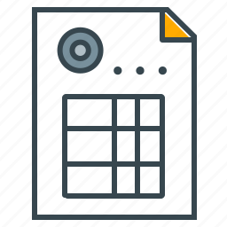 business, document, invoice, office, paper icon