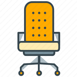 business, chair, furniture, manager, office icon
