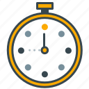 business, clock, office, timer, timing, watch icon