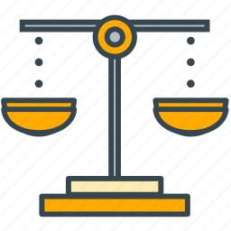 balance, business, office, scale, weigh icon