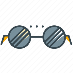 business, clothes, glasses, office, see, view icon