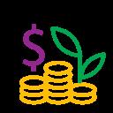 coins, profit, money