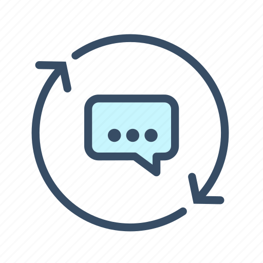 business, chat, communication, conversation icon