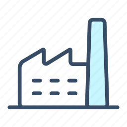 business, factory, industry, manufactory, production icon