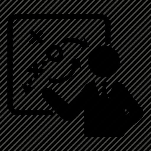analysis, business, direction, plan, presentation, strategy icon