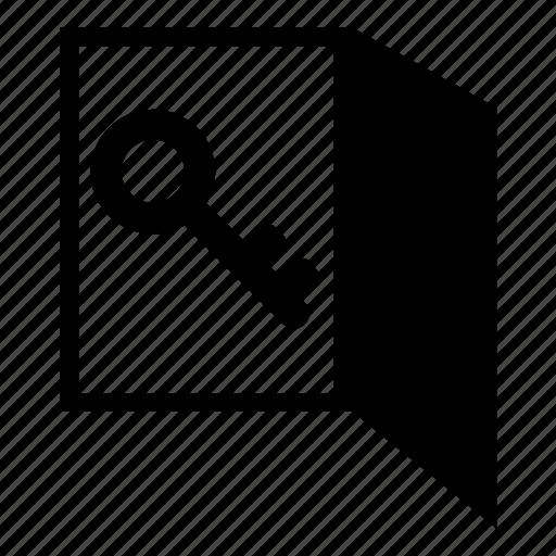 door, key, lock, password, protected, security, unlock icon