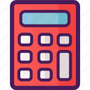 accountant, calculator, count, economy, finance, math icon