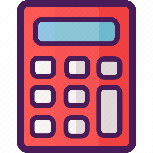 accountant, calculator, count, economy, finance, math icon