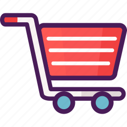 cart, market, shipping, shopping, trolley icon