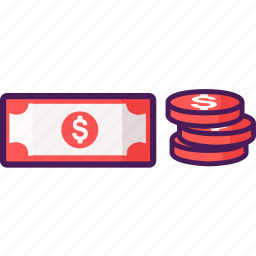 cash, coin, coins, economy, money, wallet icon