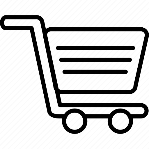 cart, market, shopping, trolley icon