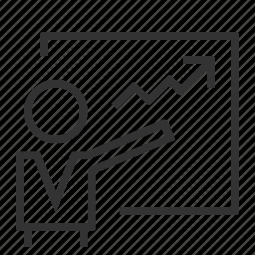 analysis, analytics, business report, chart, data, diagram, presentation icon