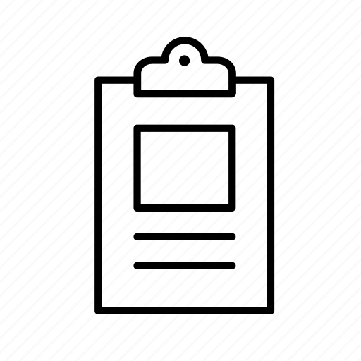business, clipboard, commerce, economics, office, work, working icon