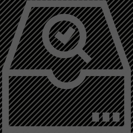 file, folder, office, search, server icon