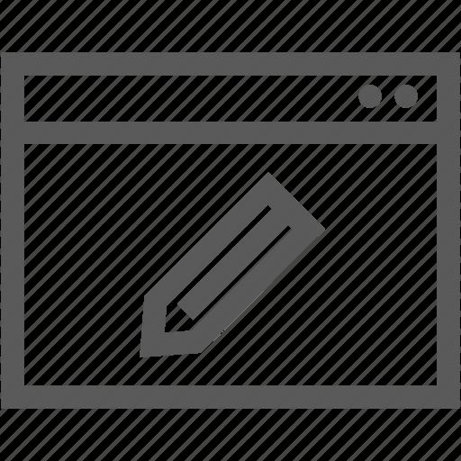 document, file, folder, pen, pencil, write icon