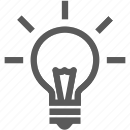 bulb, electric, lamp, light icon