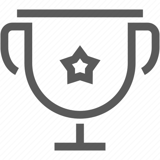 award, cup, prize, star, trophy, winner icon