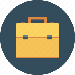 bag, job, portfolio, suitcase, travel icon icon