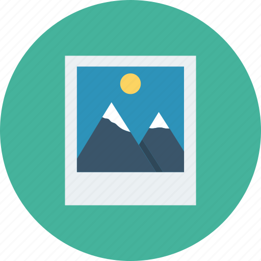 image, photo, picture icon, • gallery icon