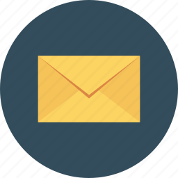 email, envelope, letter, mail, message, newsletter icon, • e-mail icon