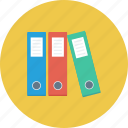 file folders, folders, office icon, • documents icon