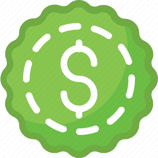 currency tag, dollar, price sticker, sticker, tag icon
