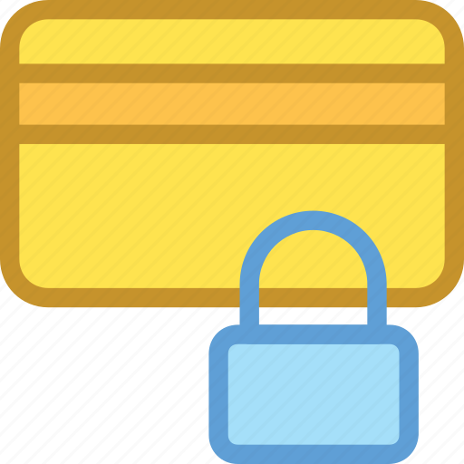 card protection, credit card, lock, protection, secure payment icon