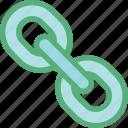 backlink, chain link, hyperlink, link, web link