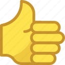 hand gesture, hand sign, human hand, ok, thumb up icon