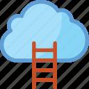 business, business achievement, career, cloud, cloud ladder