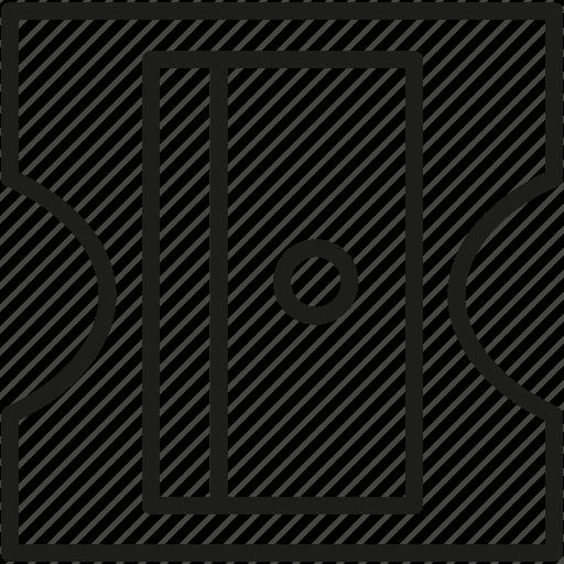 pencil, sharpener icon icon