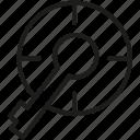 key, keyword, target icon icon