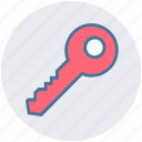 key, lock, privacy, protection, safety, security, unlock icon