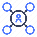 business, chart, connection, graph, network