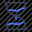 business, clock, glasshour, time