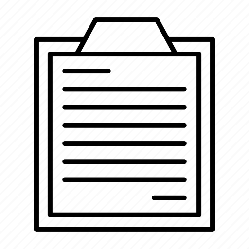 report, survey icon