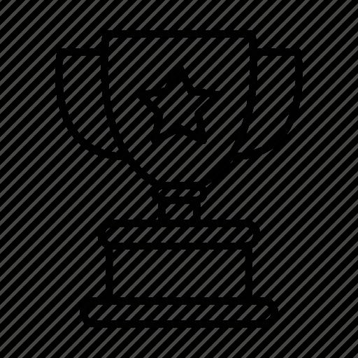 achievement, award, cup, prize, trophy, winner icon