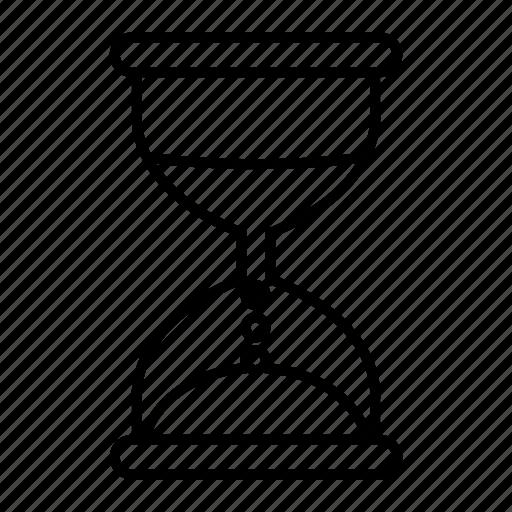 hourglass, sandglass, schedule, timer, watch icon