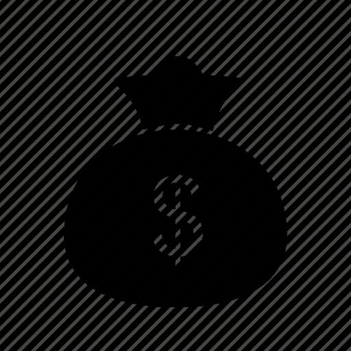 bag, cash, finance icon
