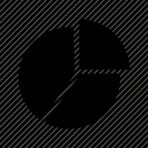 analytics, graph, pie chart icon