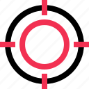business, goal, hit, target icon