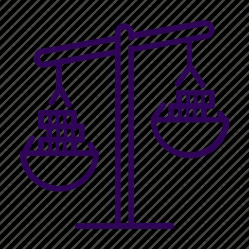 balance, business, gain, profit icon