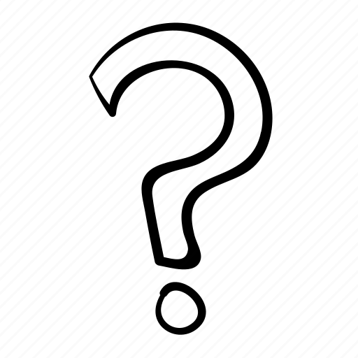 answer, clue, confused, guess, handdrawn, puzzle, question, question mark, quiz icon
