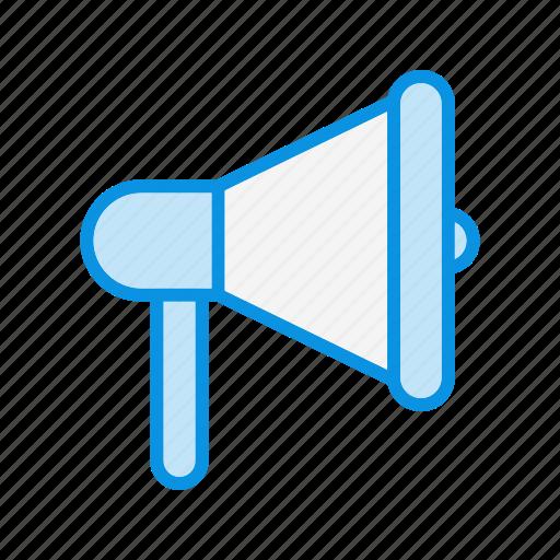announcement, bullhorn, megaphone icon