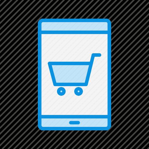 mobile, online, service icon