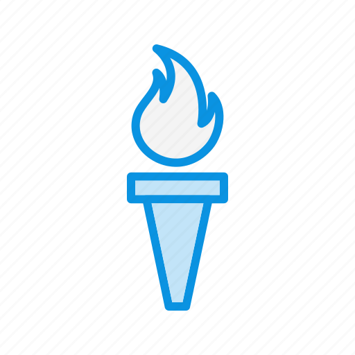flame, flashlight, torch icon