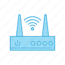 hotspot, router, wifi, wireless icon